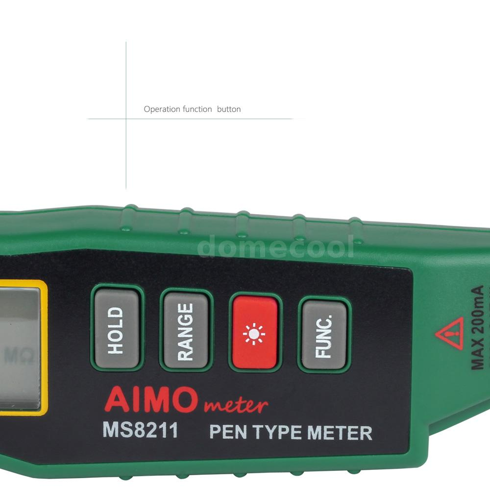 how to use pen voltage tester