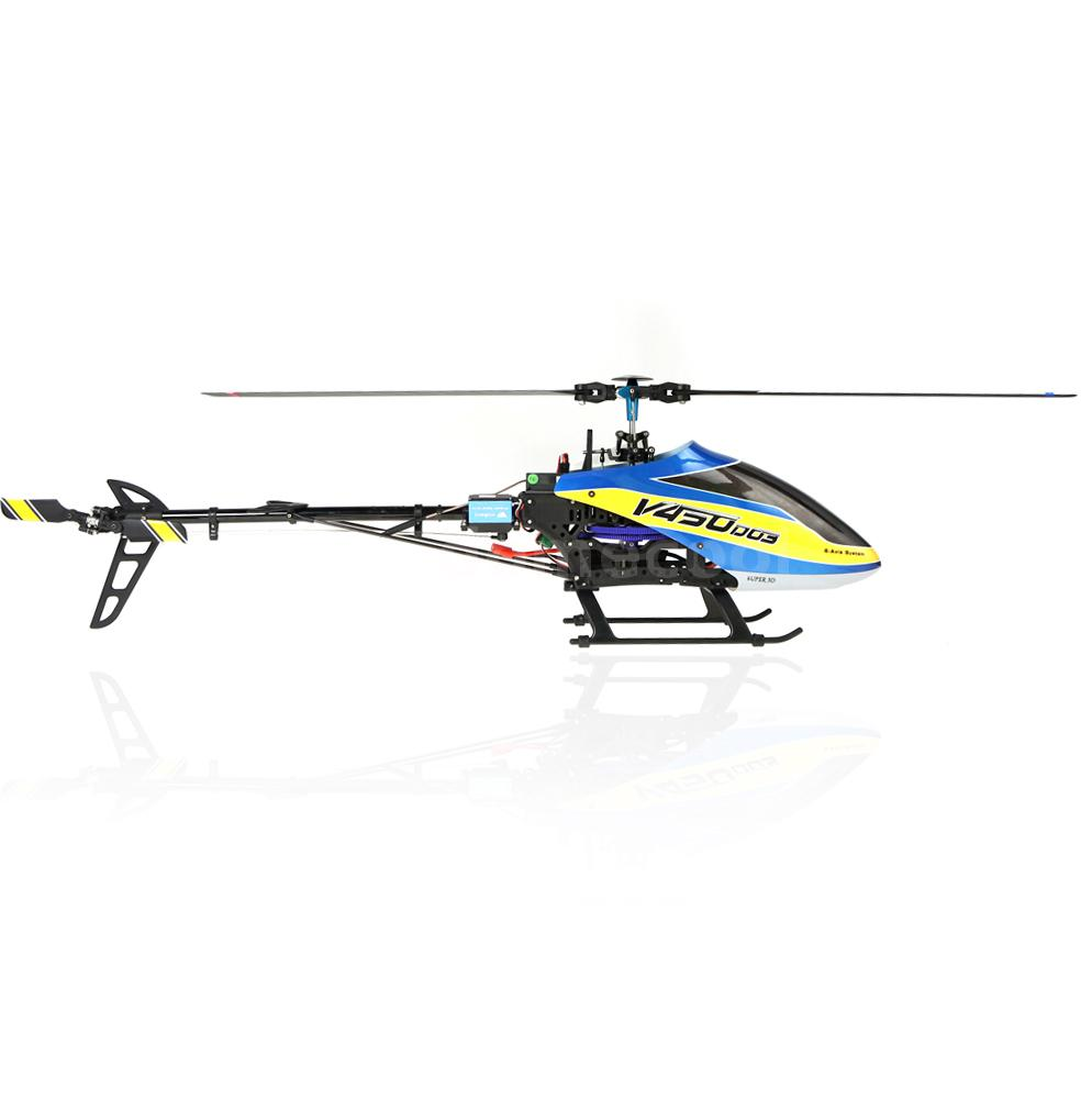 high quality walkera v450d03 6ch 450 rc fbl helicopter no