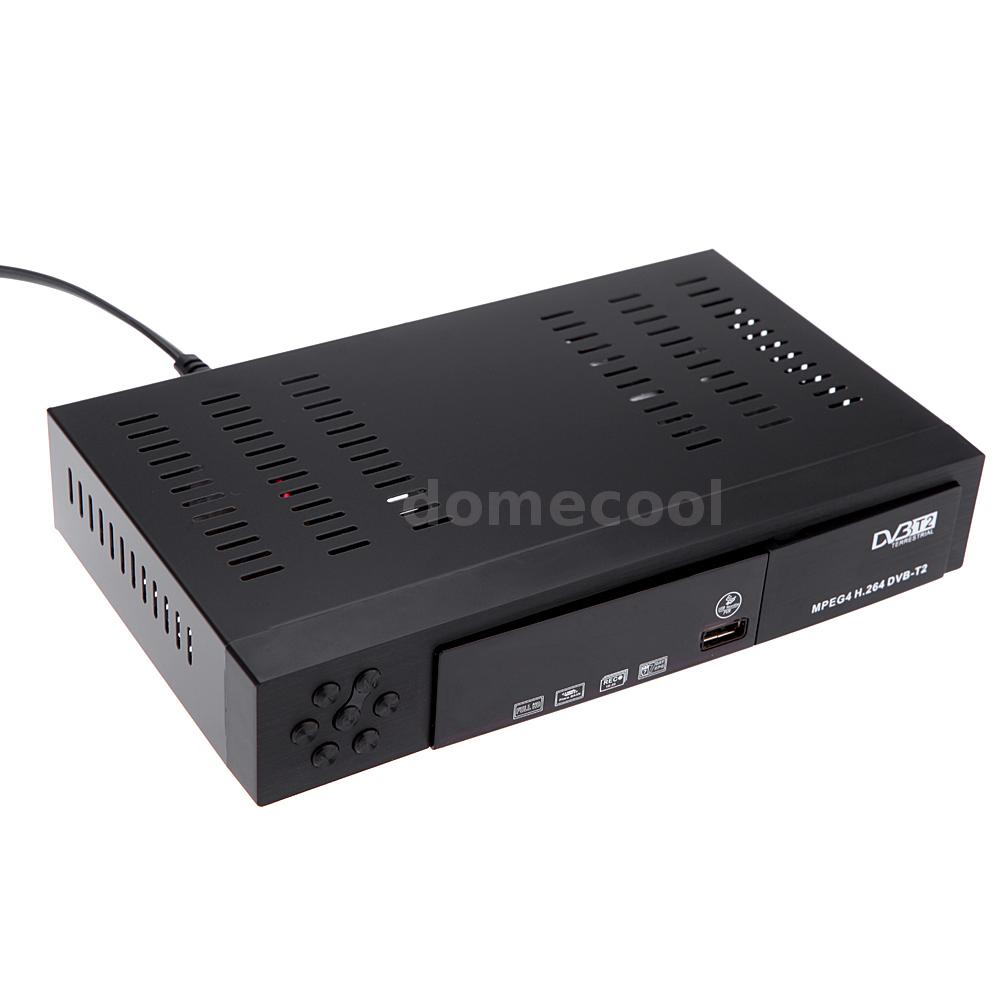 dvb t2 hd digital terrestrial receiver tv receiver dvb t2 tuner set top box new ebay. Black Bedroom Furniture Sets. Home Design Ideas