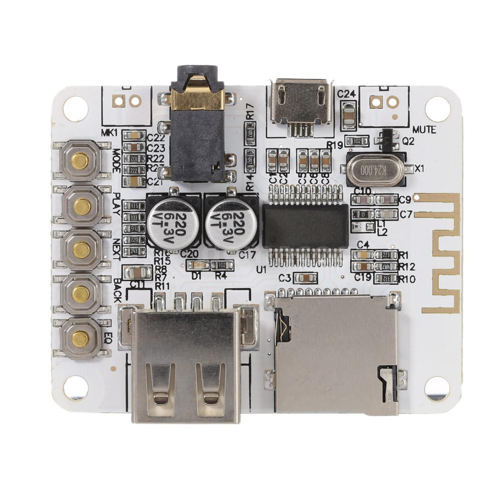 bluetooth 4 0 stereo audio receiver module board w acrylic diy case cover s0y5 ebay. Black Bedroom Furniture Sets. Home Design Ideas