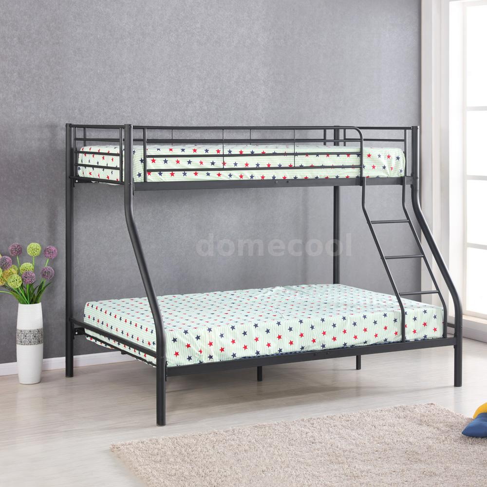 etagenbett hochbett metall doppelstockbett einzelbetten stockbett kinderbett dl ebay. Black Bedroom Furniture Sets. Home Design Ideas