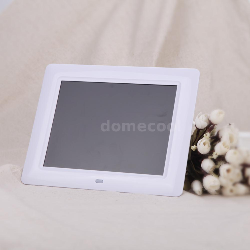 Us 8 hd digital photo frame electronic picture frame video mp3 features high resolution tft lcd 600800 screen offers the viewer a clear and distinct display simple to operate remove the memory card from your jeuxipadfo Image collections