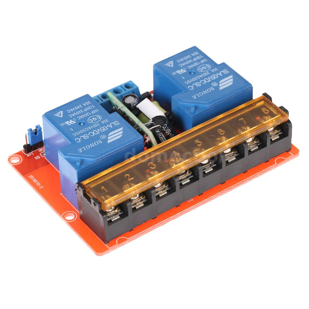 250v 30a High Quality Solid State Relay Module Board Low Level Latch Up Input Power Supply Dc 5v Or Ac 100 Isolation Modulenot Included Has Been Assembled And More Convenient For
