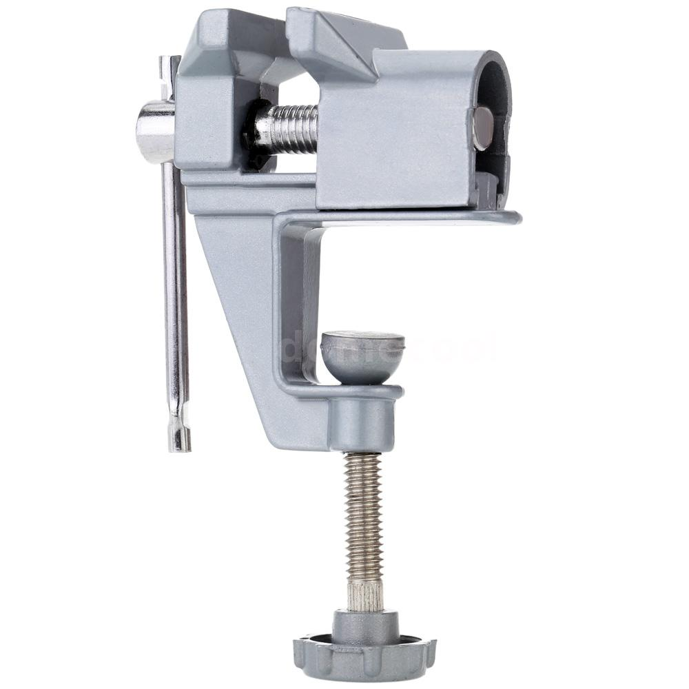 30mm Aluminum Mini Bench Vise Clip On Jewelry Clamp Table Vice Repair Tool F6z3 Ebay