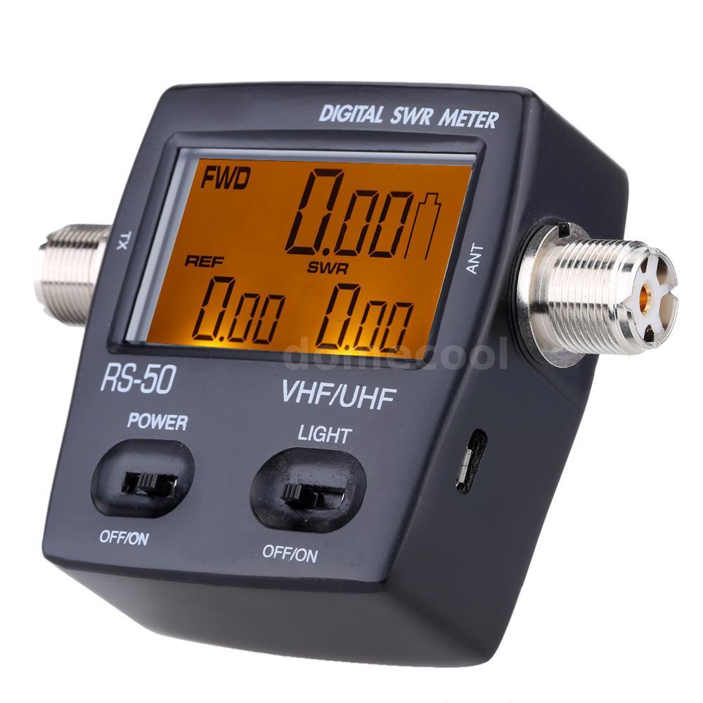 Swr Power Meter : Digital led swr standing wave ratio power meter for ham
