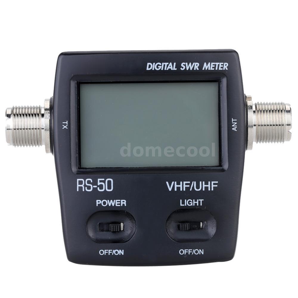 Digital Swr Meter : Digital led swr standing wave ratio power meter for ham