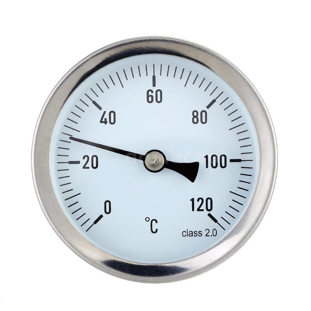 Hot Water Dial : Quot horizontal dial thermometer temperature gauge for