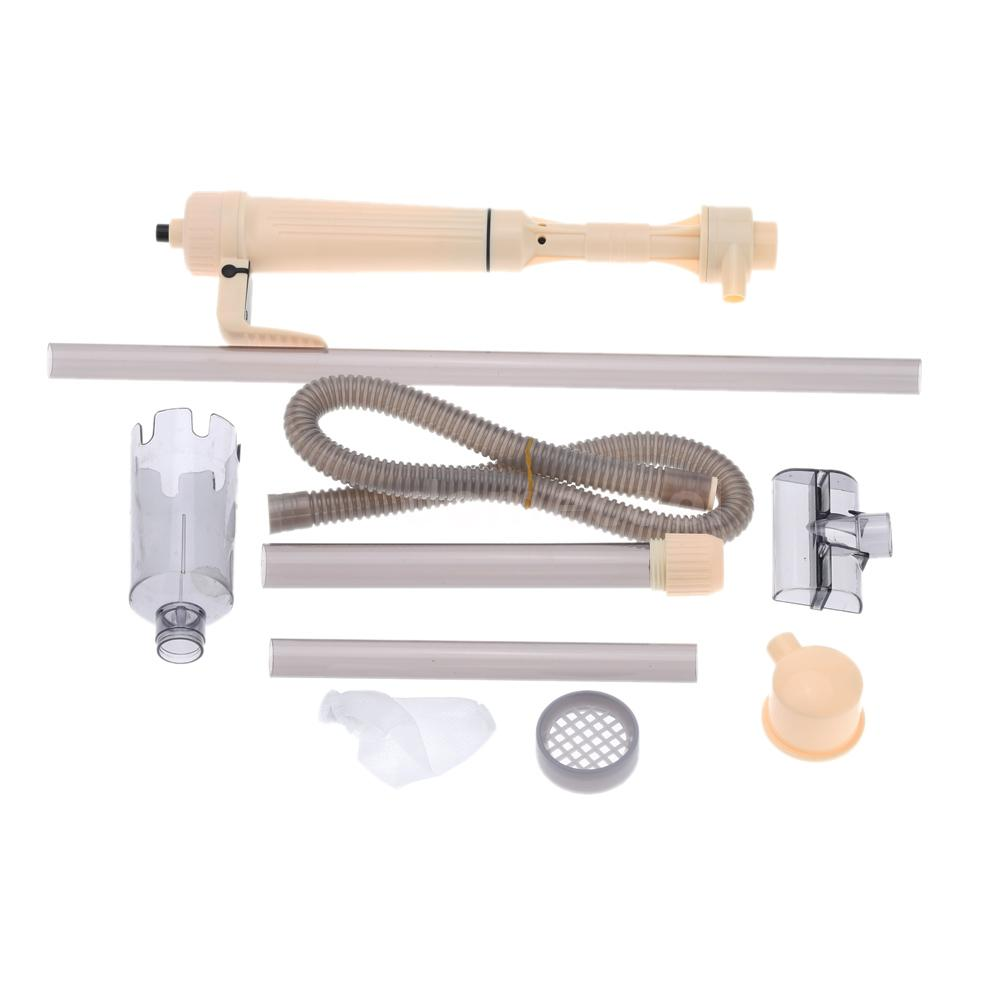 Electric water filter cleaner siphon vacuum water pump for for Fish tank cleaning pump