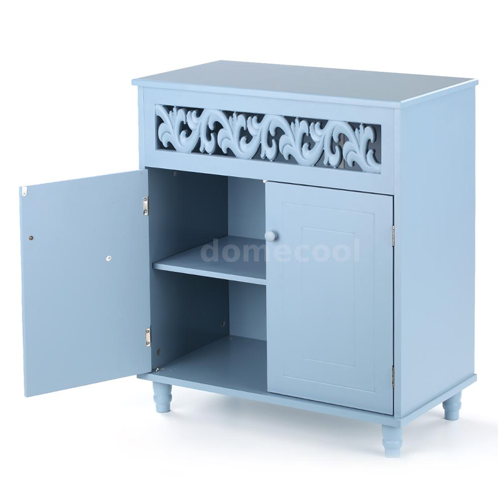 Kitchen Pantry Cabinet Small Storage Cupboard Organiser Shoes Drawer ...