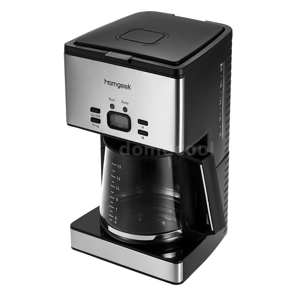 Best Drip Coffee Maker Programmable : 1.8L 15 Cups 1000W Programmable Automatic Drip Coffee Pot Maker Coffeemaker M8O0 eBay