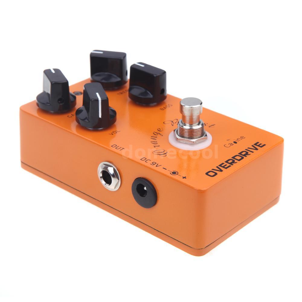caline cp 18 orange overdrive pre amp electric guitar effects pedal z2r6 ebay. Black Bedroom Furniture Sets. Home Design Ideas