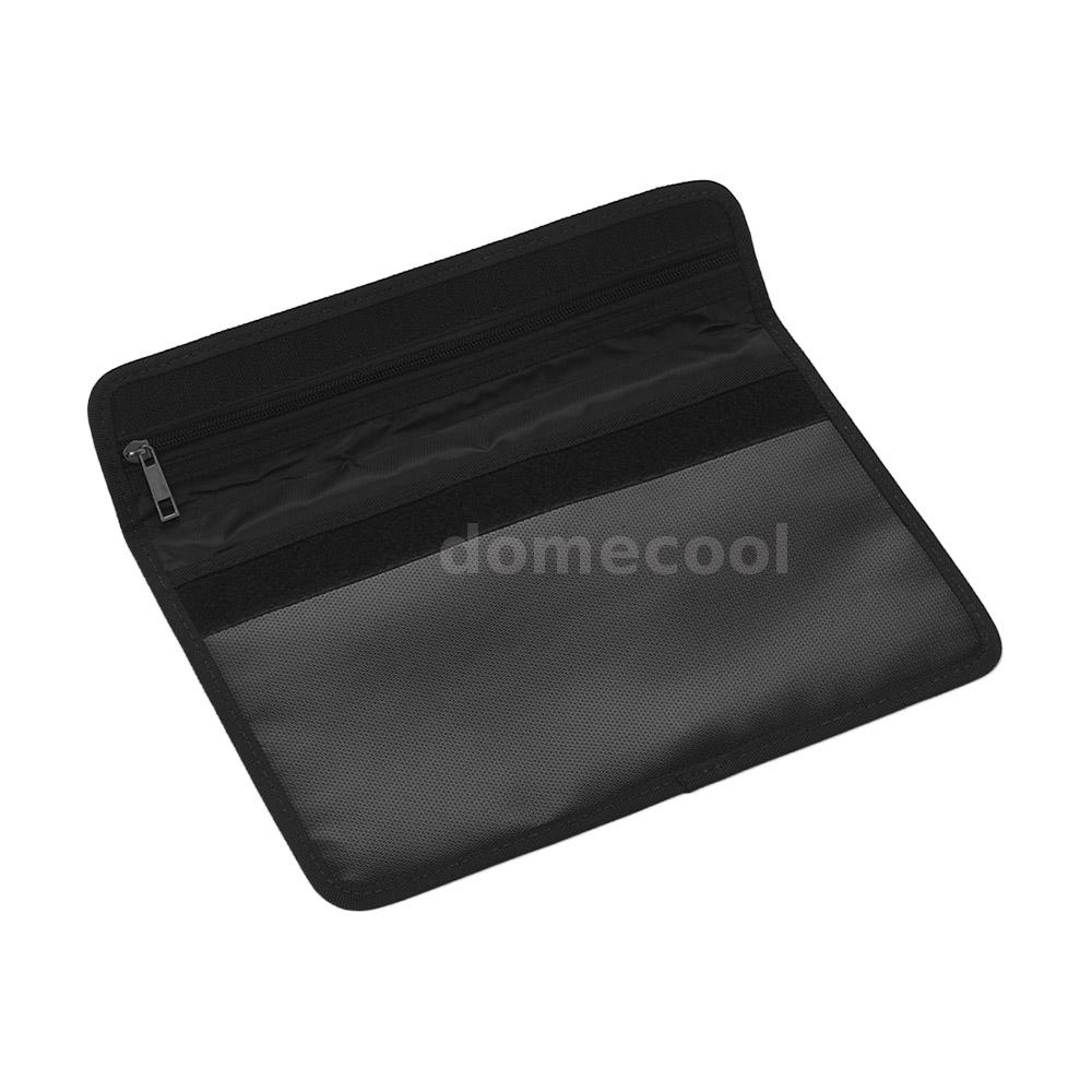 Fireproof Document Bag Heat Resistant Silicone Water Proof Cash Bags with X4H7