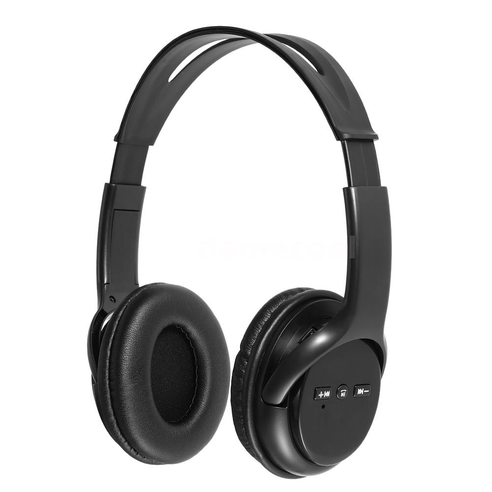bluetooth headset wireless stereo music headphones with mic for android ios k3p2. Black Bedroom Furniture Sets. Home Design Ideas