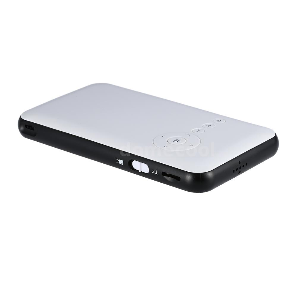 Mini led dlp wifi new bluetooth 4 0 pocket projector 3d for A small projector