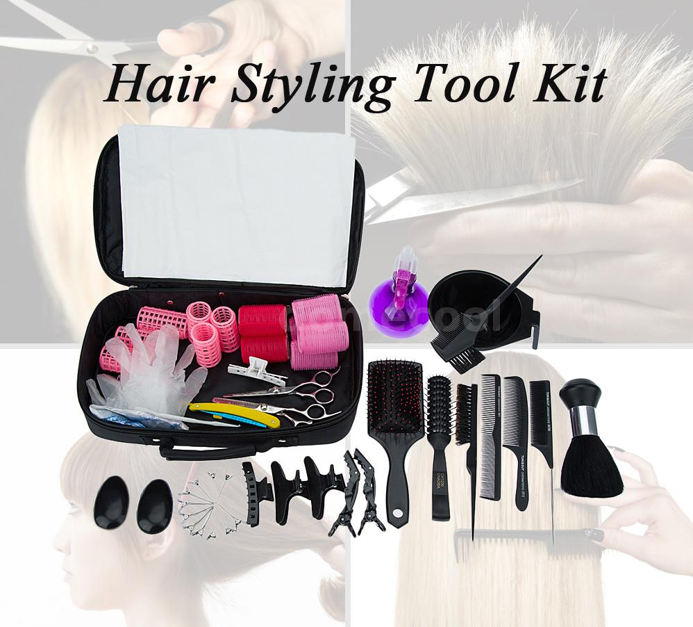 hair styling kit high quality hair scissor bag hair cutting tool barber bag 1953