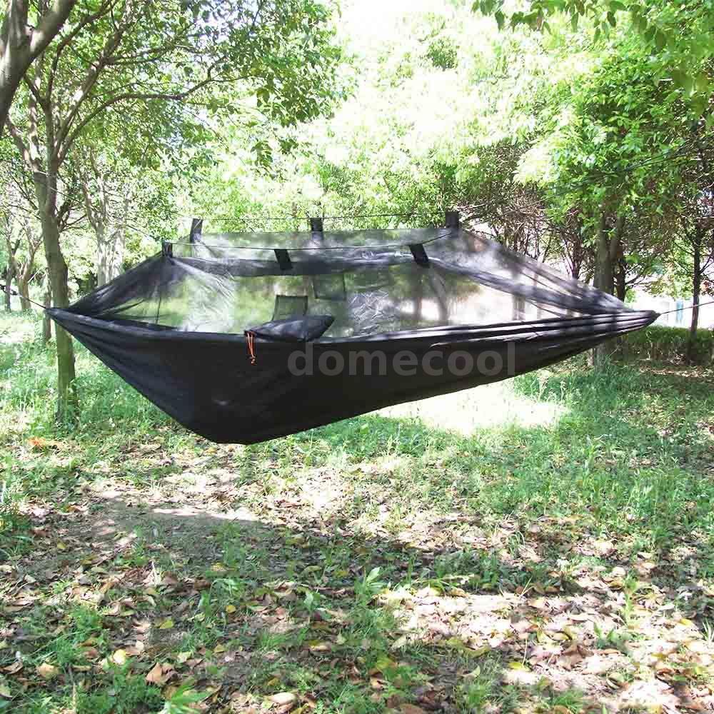 moskitonetz h ngematte leichte outdoor camping reise h ngematte lixada g8w9 ebay. Black Bedroom Furniture Sets. Home Design Ideas