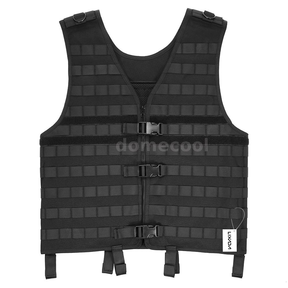 Outdoor Men/'s Molle Modular Vest Hunting Gear Load Carrier Vest with Y6Q6